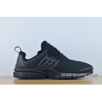 Latest New Abrasive Nike Air Presto Blackout Men Casual Running Shoes 848187-011