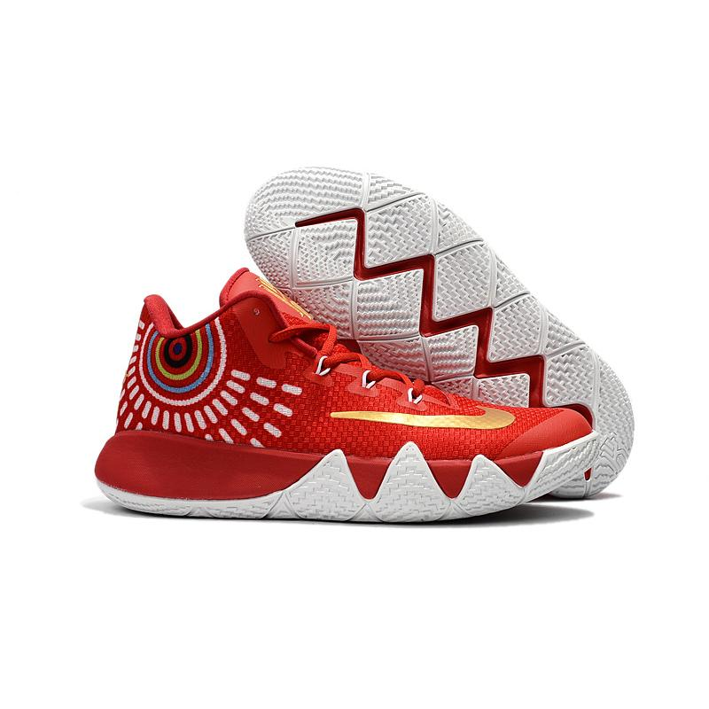 d0905632818c USD  87.76  272.06. Nike Kyrie 4 Red White Gold ...