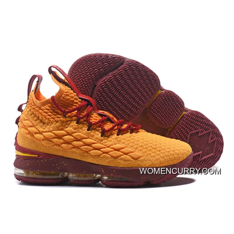 USD  96.11  240.27. Nike LeBron 15 Yellow Burgundy Gold ... 8ab831d770