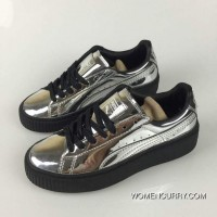 PUMA Rihanna Joint Leisure Lovers Shoes Increased Matsukawa Board Shoes Mirror Silver 36-44 Copuon Code