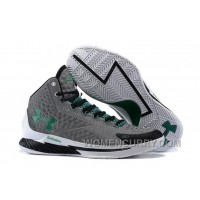 "For Sale Under Armour UA Curry One ""Golf"" Grey-Green/Scratch White Shoes"