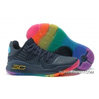 "Under Armour Curry 4 Low ""Be True""Basketball Sneakers New Style"