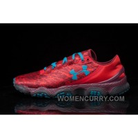 Under Armour Speedm XC Mens Wine Red Light Blue For Spring