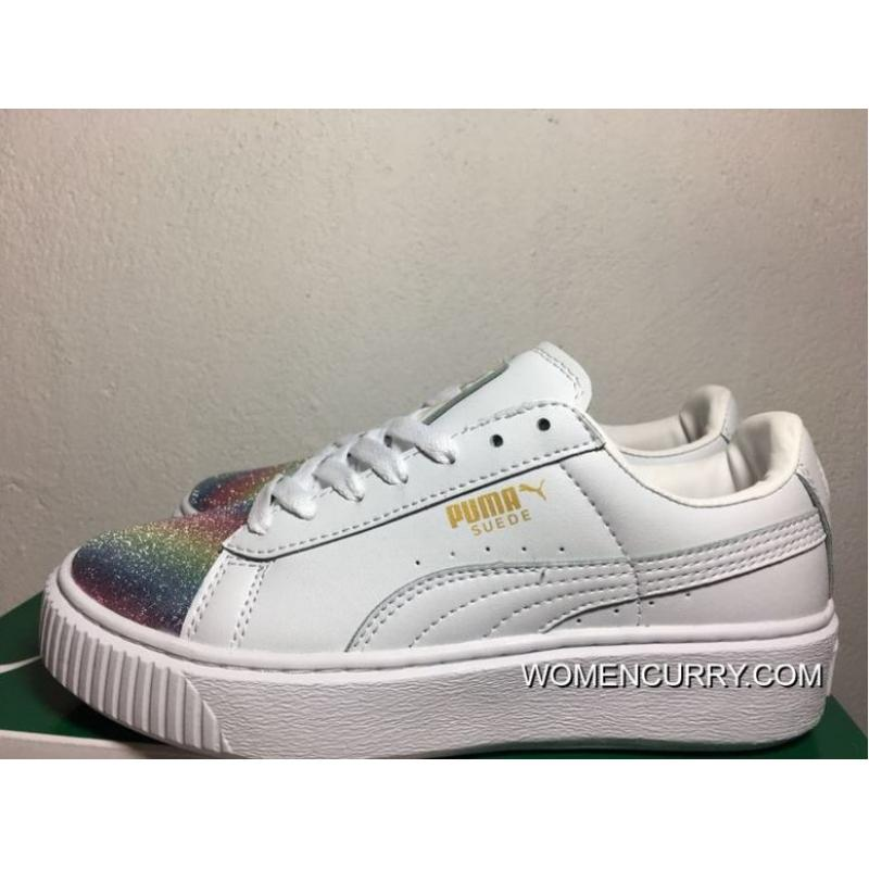 c5386f35c59 USD  95.02  313.56. Outlet Rihanna 2 White Rainbow Gold ...