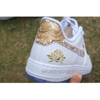 Air Force 1 Chinese New Year White Gold Peony Cheap To Buy