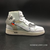 Jordan 1 Off-White Air X White Original Sku: Number 7 5 Aq0818-100-13 New Style