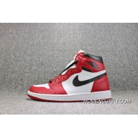 Air Jordan 1 Retro OG High Chicago 1 Chicago Colorways Basketball Shoes Men Shoes 555088-101 Super Deals