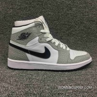 Jordan Air Ultimate Action Leather AJ1 Also Shoes Series 1 Retro High Elephant Print SKU 839115-106 Grey White Burst New Year Deals