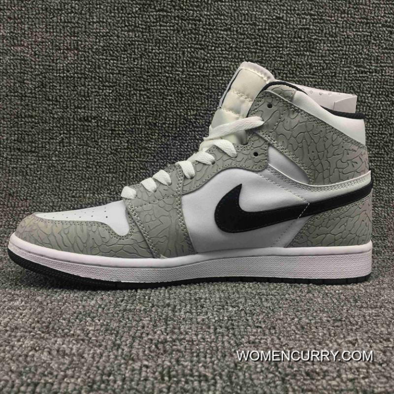 ... Jordan Air Ultimate Action Leather AJ1 Also Shoes Series 1 Retro High  Elephant Print SKU 839115 ... ebd280417f7a