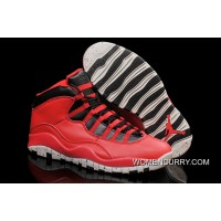 "New Air Jordan 10 ""Gym Red"" Cheap To Buy"