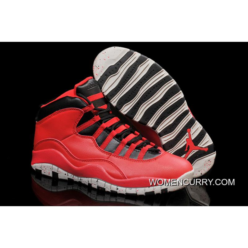 """competitive price 8df08 17972 New Air Jordan 10 """"Gym Red"""" Cheap To Buy"""