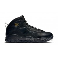 "2017 Mens Air Jordan 10 ""NYC"" For Sale Free Shipping X7PtsK4"