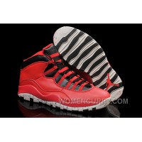 "Mens Air Jordan 10 ""Gym Red"" For Sale Top Deals DMZ5i5z"