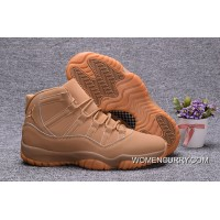 "New Air Jordan 11 ""Ginger"" Ginger/Gum Yellow- Release Authentic"