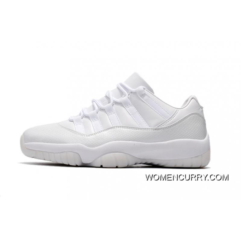 "info for bf956 73f08 New Air Jordan 11 Low ""Frost White"" White- Release Free Shipping"