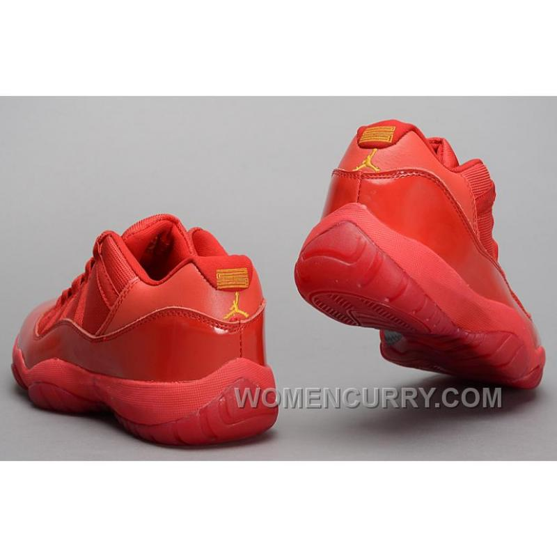 info for de031 251b6 Mens Air Jordan 11 Low All Red PE Shoes For Sale Christmas Deals DXxSdZ