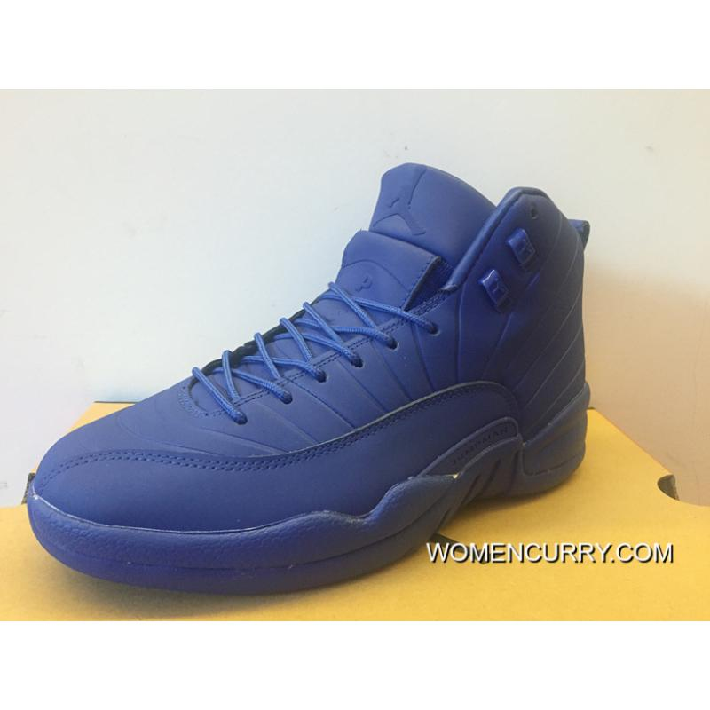 8a508057580426 ... closeout psny air jordan 12 real blue black black white max orange  db7f4 3a2f4