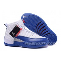 """2017 Mens Air Jordan 12 """"French Blue"""" For Sale Authentic 6W2cNK"""