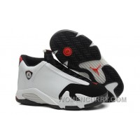 "2017 Mens Air Jordan 14 ""Black Toe"" For Sale Top Deals CZeYi5R"