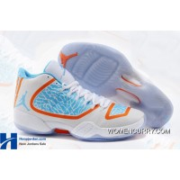 """OKC Home"" Air Jordan XX9 PE White-Orange/Photo Blue Free Shipping"