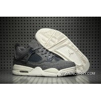 """Wool"" Air Jordan 4 Dark Grey Super Deals"