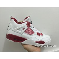 """Alternate '89"" Air Jordan 4 White/Black-Gym Red Best"