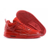 """Mens Air Jordan 4 11Lab4 """"Red Patent Leather"""" Christmas Deals Ynjy7TG"""