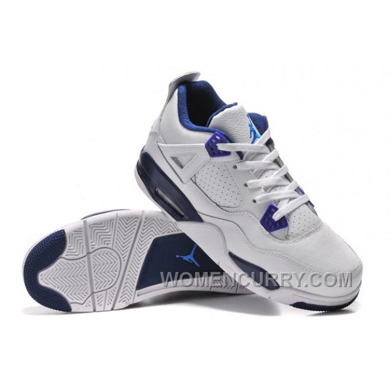 """various colors 0a87b fc164 Mens Air Jordan 4 """"Columbia"""" White/Columbia Blue-Midnight Navy For Sale  Christmas Deals MSzn5"""