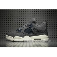 Air Jordan 4 Wool Dark Grey Lastest