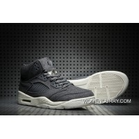 """Wool"" Air Jordan 5 Dark Grey/Dark Grey-Sail Cheap To Buy"