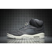 Air Jordan 5 Wool Dark Grey New Release