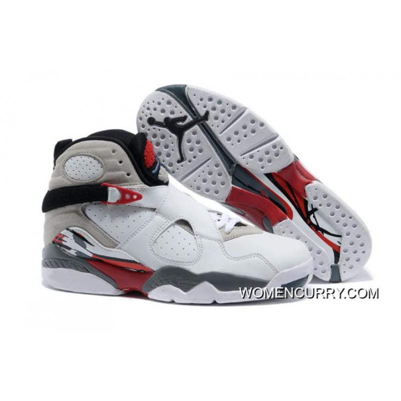 "sports shoes e57ab 34b08 ""Bugs Bunny"" Air Jordan 8 White/Black-True Red Free Shipping"