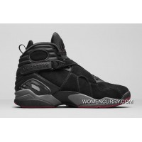 Air Jordan 8 Cement-Black/Gym Red-Black-Wolf Grey- Releasing Copuon Code