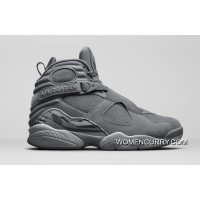 Air Jordan 8 'Cool Grey' Online