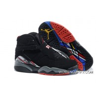 """""""Playoffs"""" Air Jordan 8 Black/True Red-White– Released For Sale"""