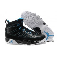 Air Jordan 9 Retro Black/Photo Blue-White Best