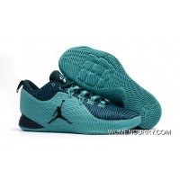 Cheap Air Jordan CP3.X Drak Green/Tea Online