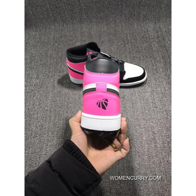 "185427d012ba ... ""Valentines Day"" Air Jordan 1 Retro High OG GS Black Black-Hyper · "" ..."