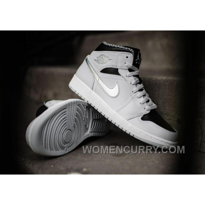 "... 2017 Air Jordan 1 Mid ""Pure Platinum"" For Sale Authentic ..."