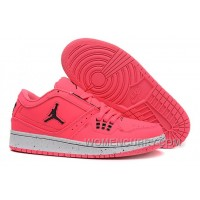 Girls Air Jordan 1 Low Pink Black 2017 For Sale Discount HjjMT
