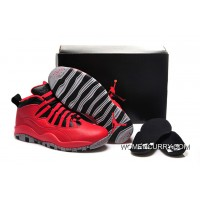 """Bulls Over"" Air Jordan 10 Gym Red/Black-Wolf Grey Lastest"