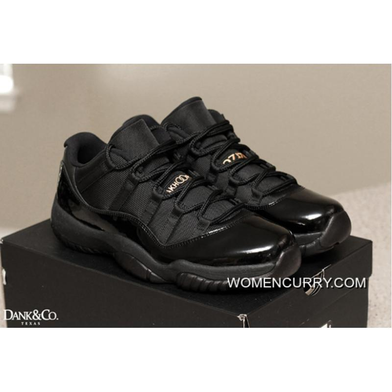 da6d9cb225e Wedding Day' Air Jordan 11 Low All Black New Style, Price: $80.69 ...