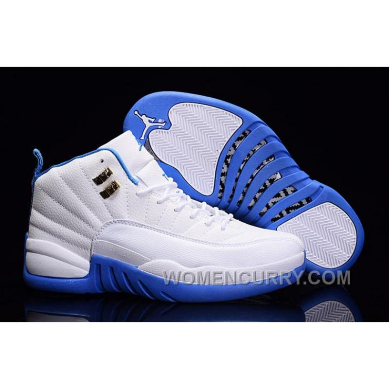 d0d7ef8d875 ... france 2017 air jordan 12 white metallic gold university blue for sale  lastest 6aef4 d6214