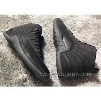 852627-003 Air Jordan 12 Wool Grey Silver Black For Sale Cheap To Buy WANHFhw