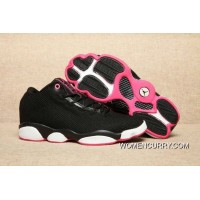New Jordan 13 GS Retro Black Pink/White Copuon Code