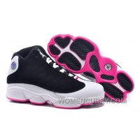 "2017 Girls Air Jordan 13 ""Hyper Pink"" For Sale Christmas Deals R58Qz"