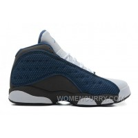 Air Jordan 13 French Blue/Flint Grey-White For Sale Cheap To Buy SS7Xie