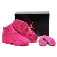 Girls Air Jordan 13 All-Pink Shoes For Sale Top Deals Hsj8f4