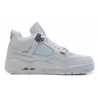 "Air Jordan 4 ""Silver 25th Anniversary"" For Sale Discount He5E7"