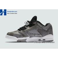 "893b2f702ce2   All Star"" Air Jordan 5 Low GS Cool Grey Wolf Grey-"